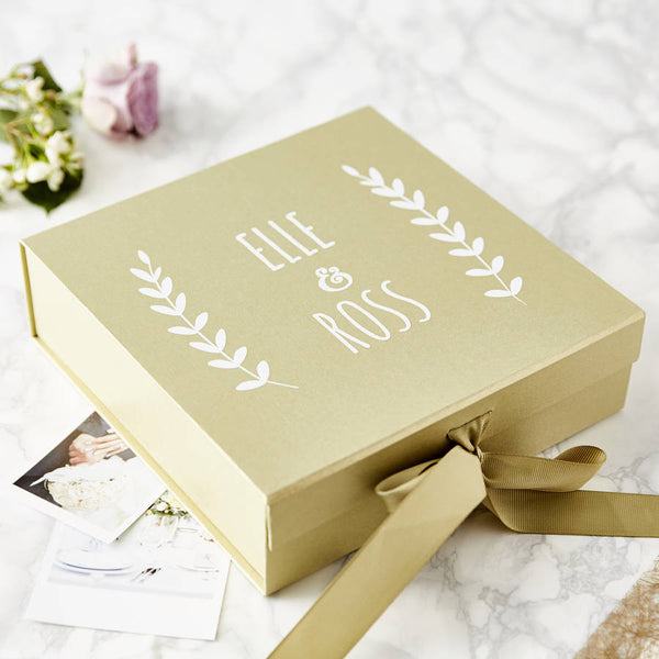 Laurel Couples Keepsake Box