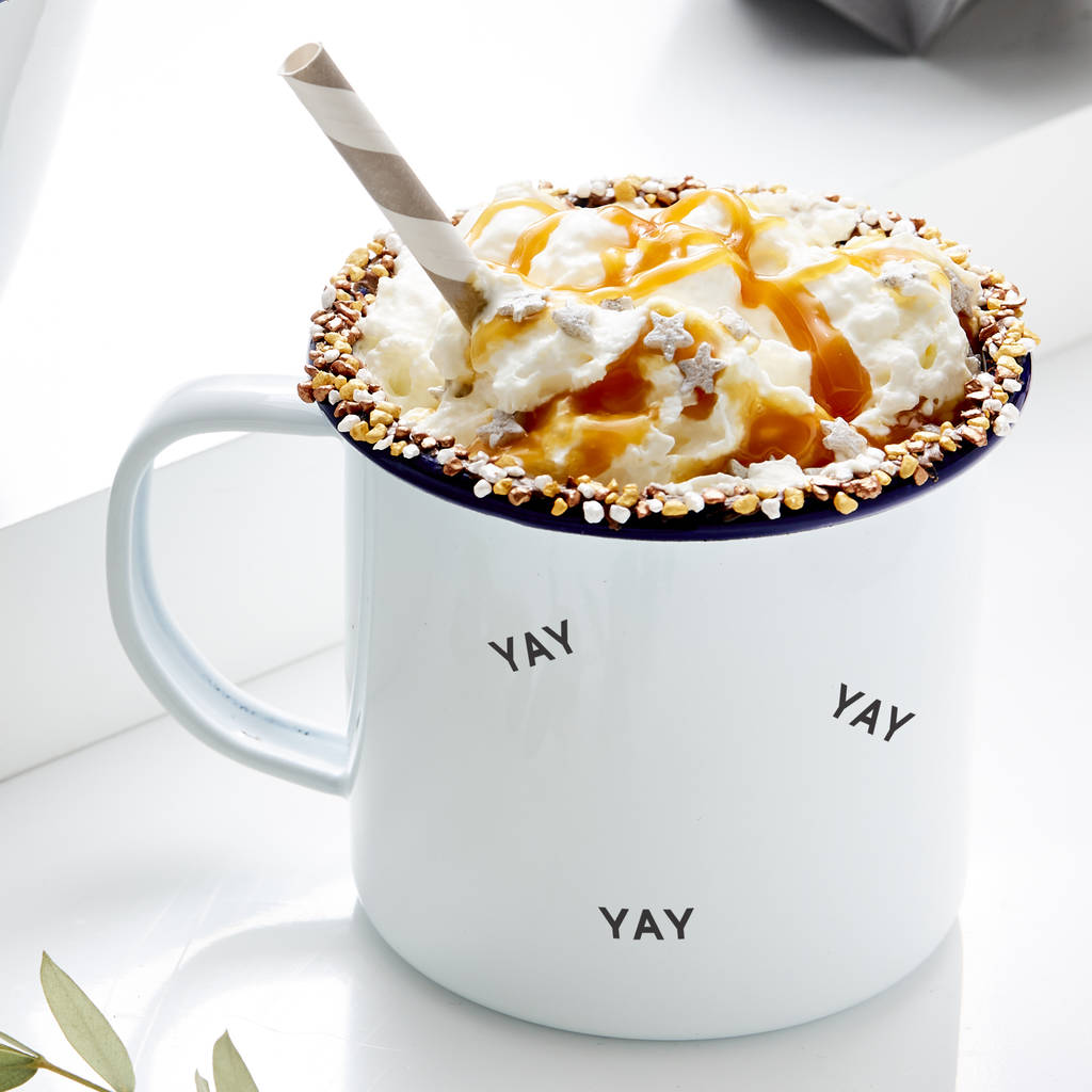Little Words Personalised Enamel Mug