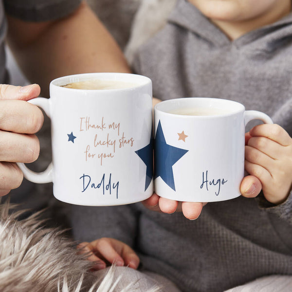 Lucky Stars Personalised Mug Set