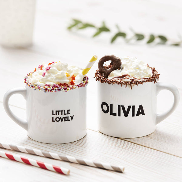 Little Message Personalised Children's Mug