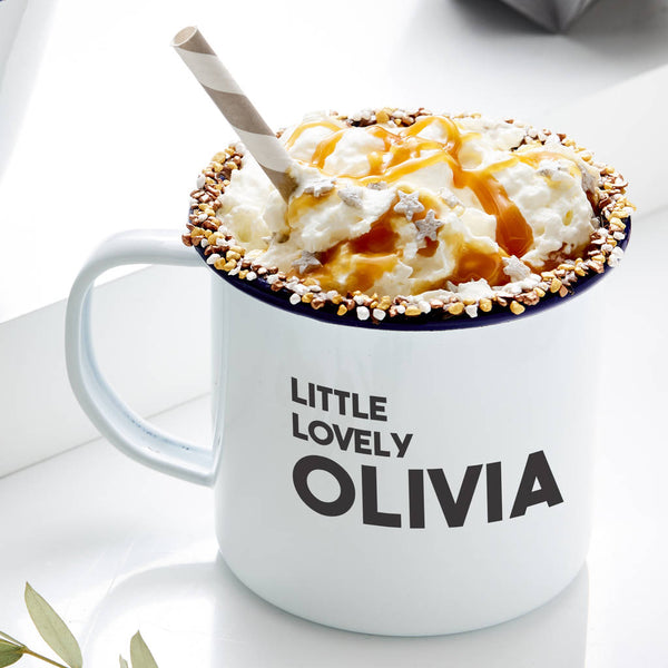 Name Personalised Enamel Mug