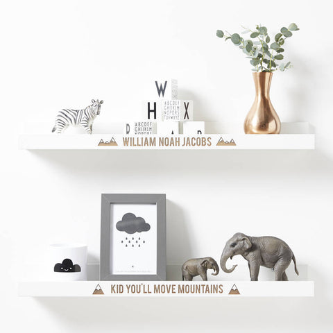 Personalised Adventure Shelf