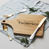 Personalised Anniversary Chopping/Cheese Board