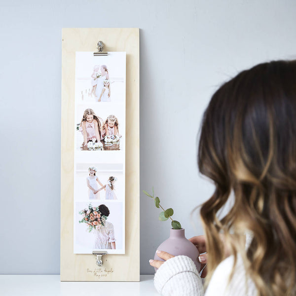 Personalised Baby Giant Photo Strip