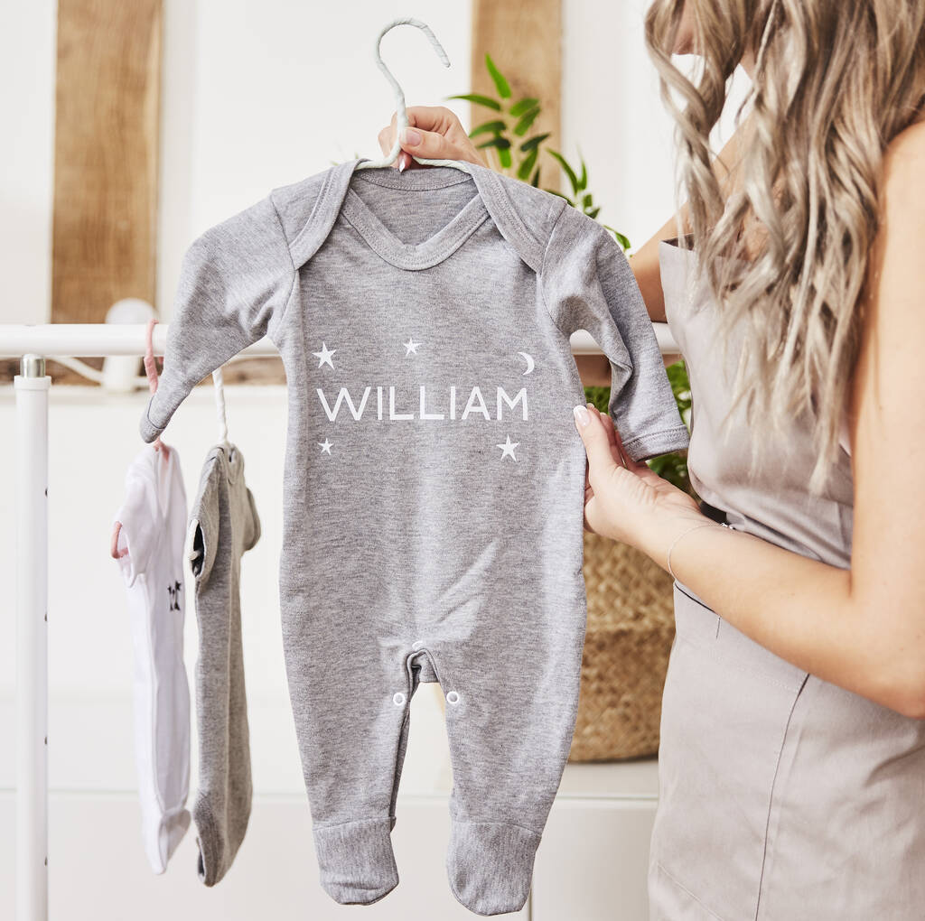 Personalised Baby Name Bodysuit