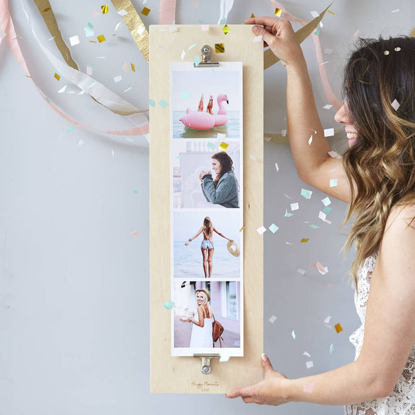 Personalised Best Friend Giant Photo Strip