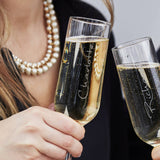 Personalised Champagne Flute Set