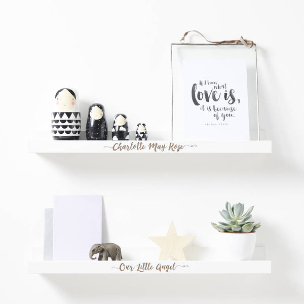 Personalised Children's Shelf