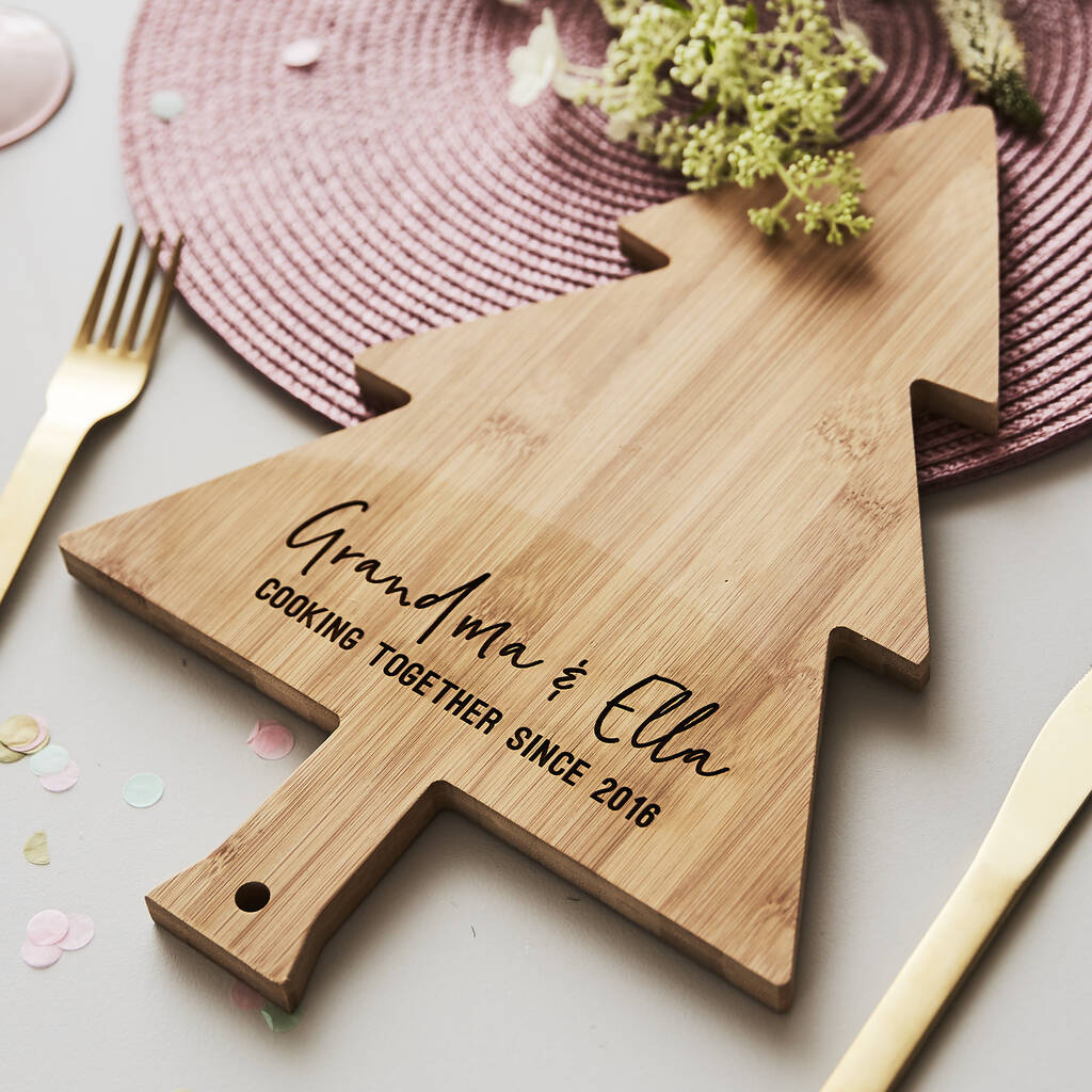 Personalised Wooden Chopping/Cheese Board For Her