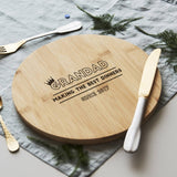 Personalised Chopping/Cheese Board For Him