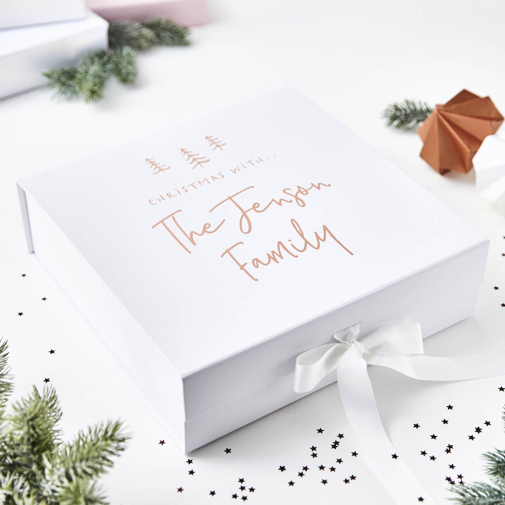 26bce9f4 Personalised Christmas Eve Box – Sophia Victoria Joy
