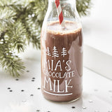 Personalised Christmas Milk Bottle