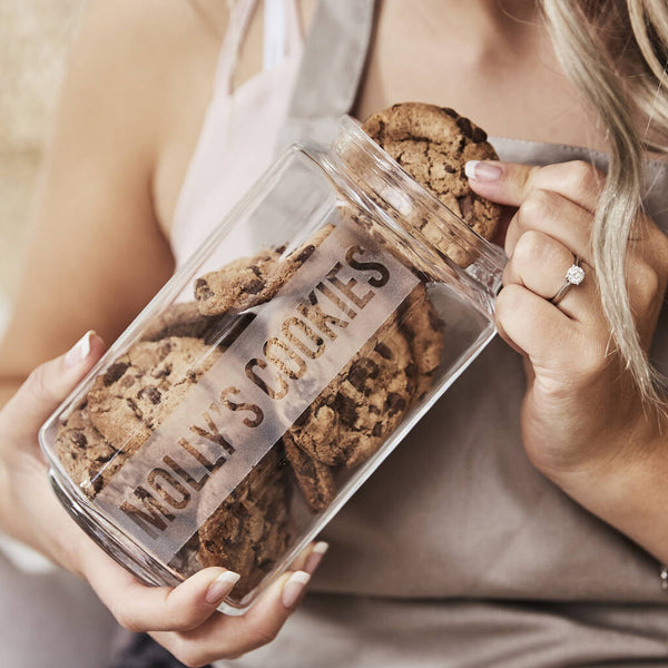 Personalised Cookie Jar