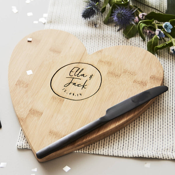 Personalised Couples Chopping/Cheese Board