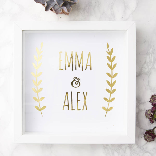 Personalised Couples Print