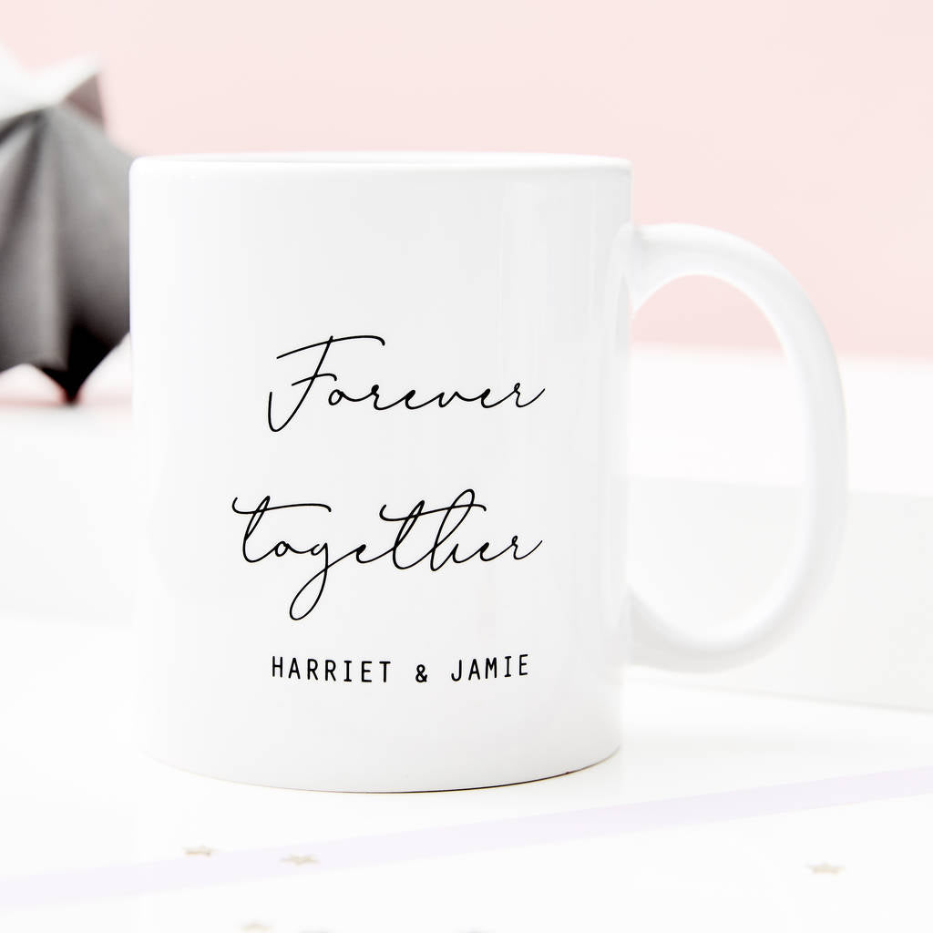 Couples Personalised Ceramic Mug