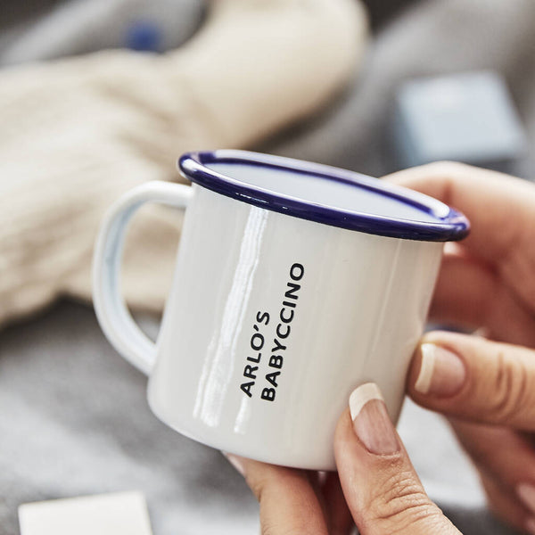 Personalised Enamel Children's Mug