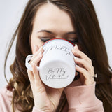 Personalised Enamel Hidden Message Mug