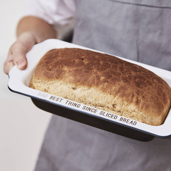 Enamel Personalised Loaf Tin