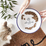 Personalised Enamel Pet Bowl