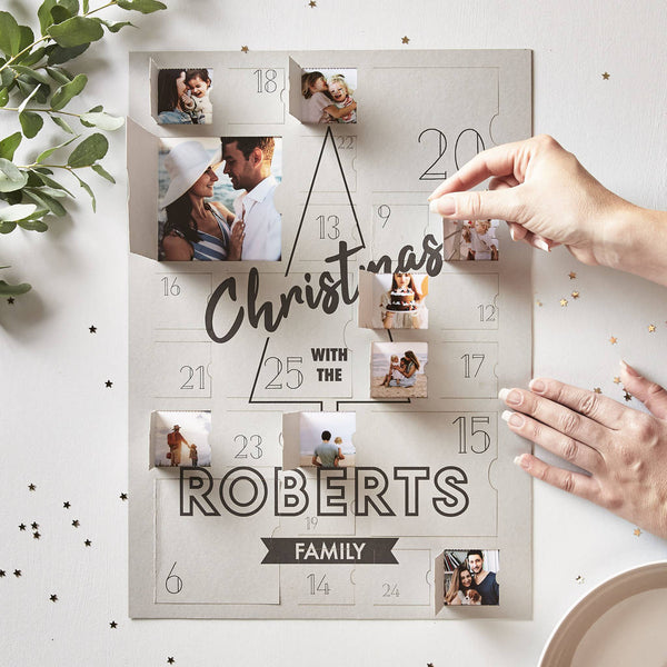 Personalised Family Photo Advent Calendar