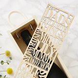 Personalised Favourite Wooden Bottle Box For Him