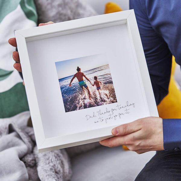 Personalised Favourite Memory Framed Print For Him