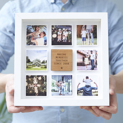 Personalised Framed Photo Print For Him