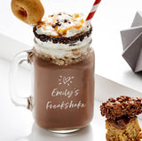 Personalised Freakshake Mason Jar