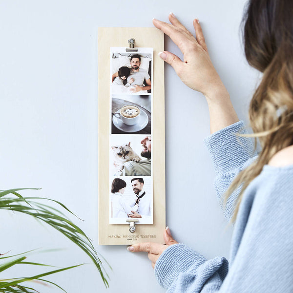 Personalised Giant Photo Strip For Dad