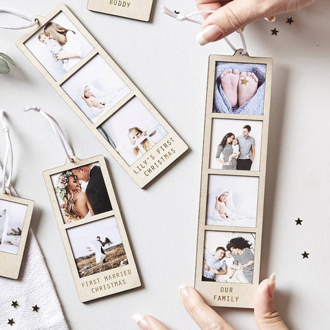 Personalised Hanging Photo Decoration