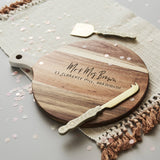 Personalised Happy Couple Chopping Board