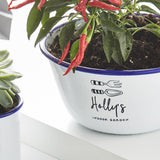 Personalised Indoor Garden Planter