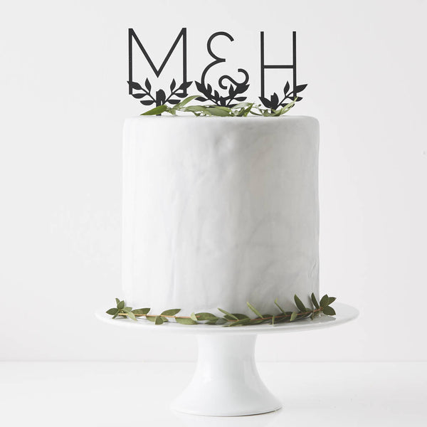Personalised Letters Cake Topper