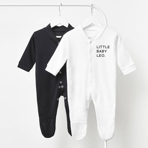 Little One Personalised Sleepsuit