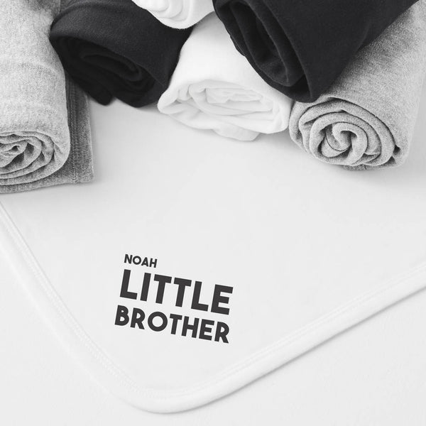 Personalised Little Brother Blanket