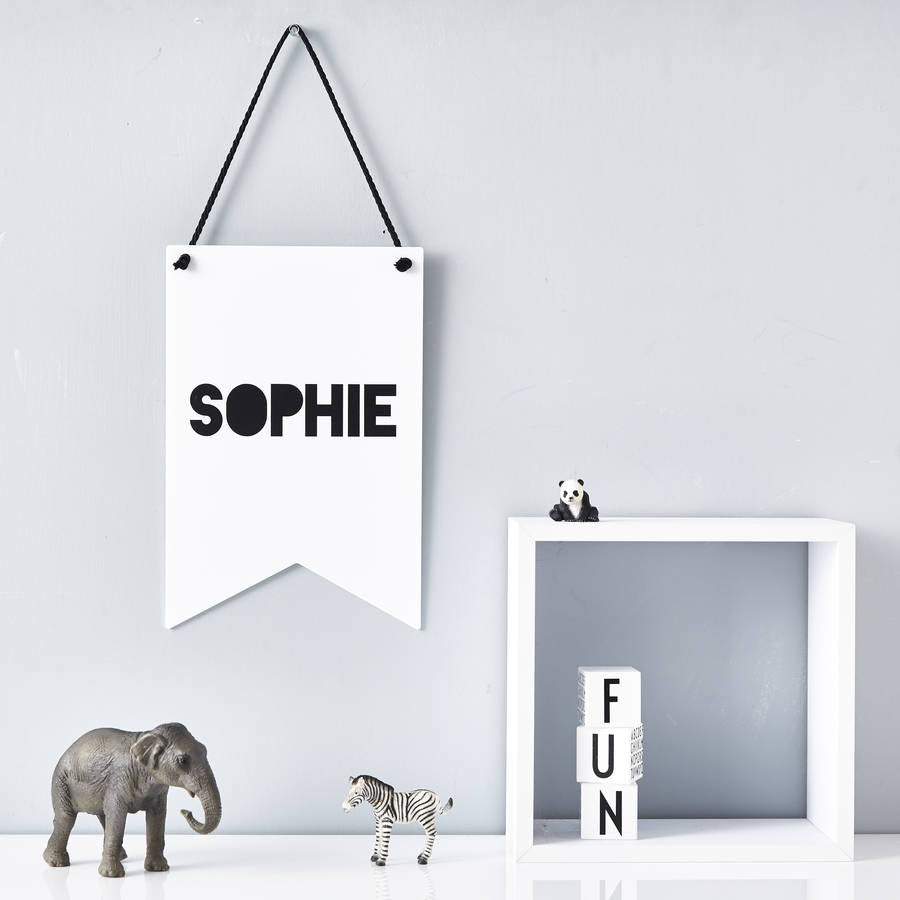 Personalised Monochrome Wall Art