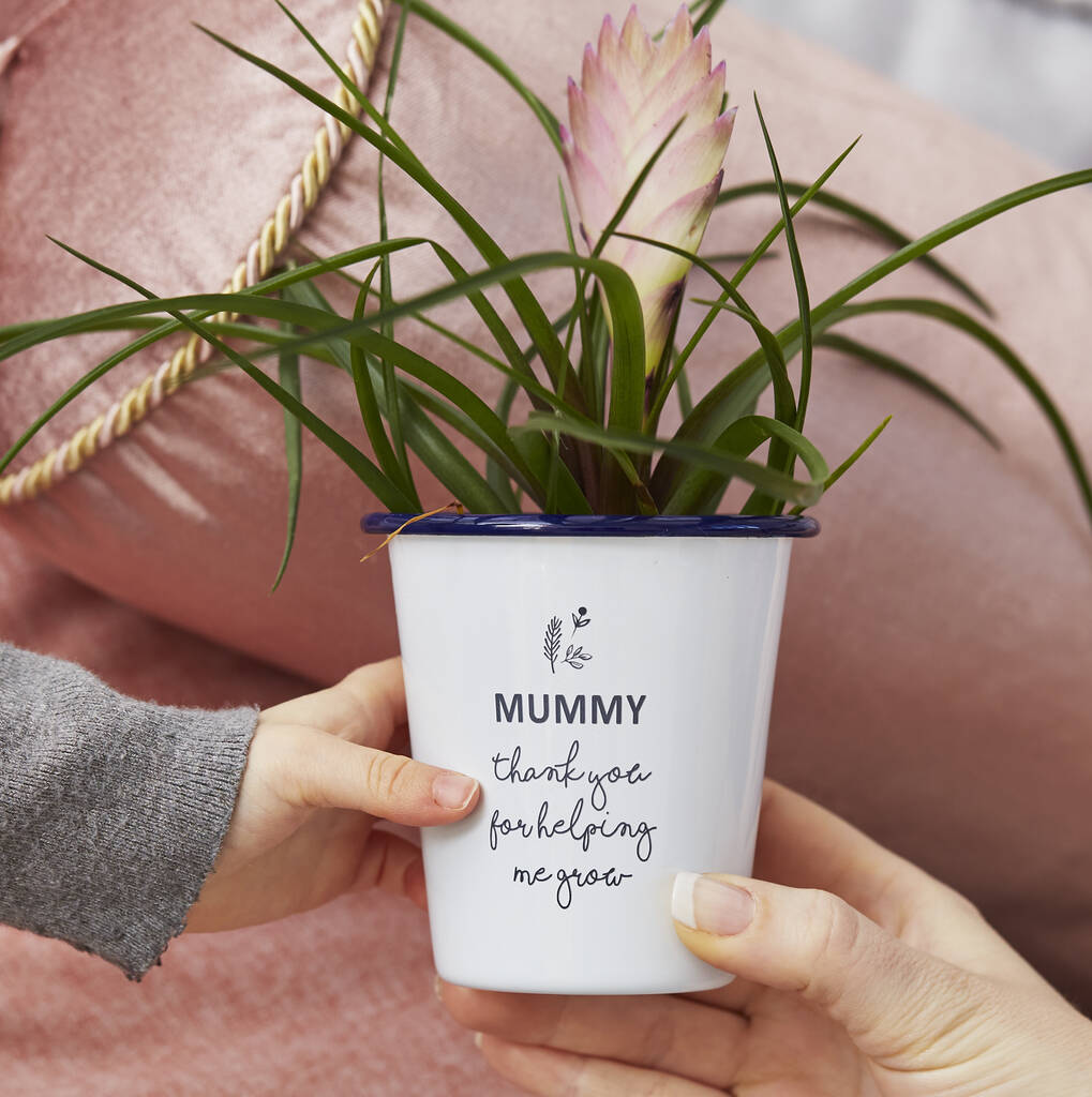 Personalised Mother's Day Planter