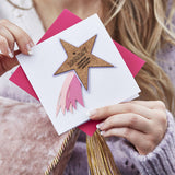 Personalised Mother's Day Shooting Star Card