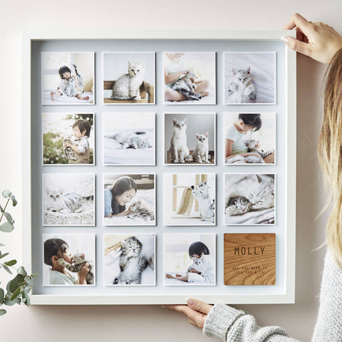 Framed Personalised Pet Photo Print