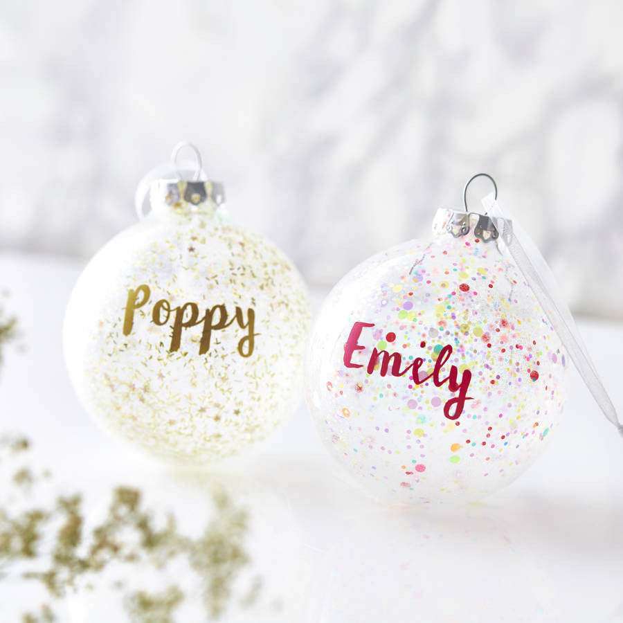 Personalised Pick And Mix Bauble