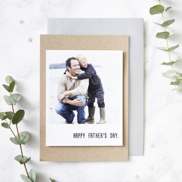 Personalised Polaroid Card