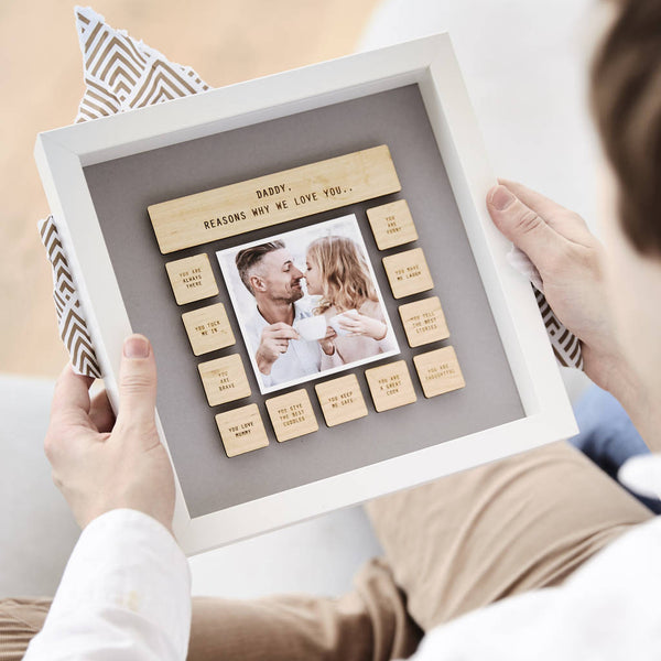 Personalised Reasons Why We Love Daddy Framed Print