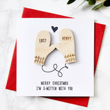 Personalised Smitten Card