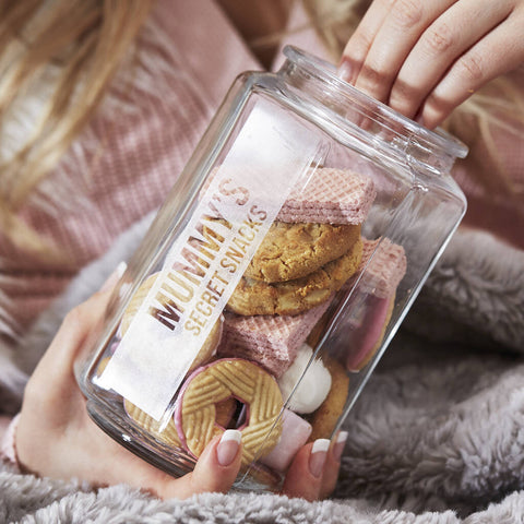 Personalised Snack Jar