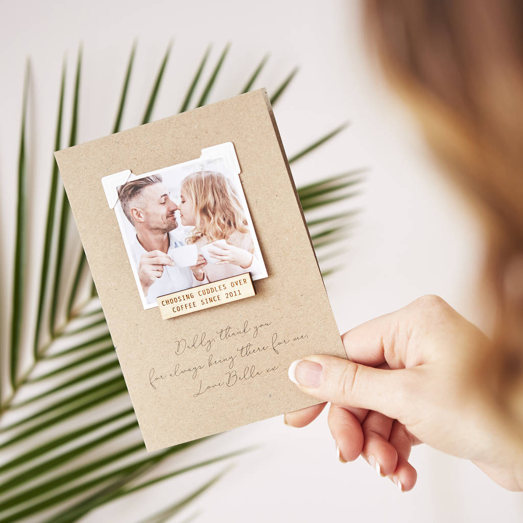 Personalised Special Memory Card