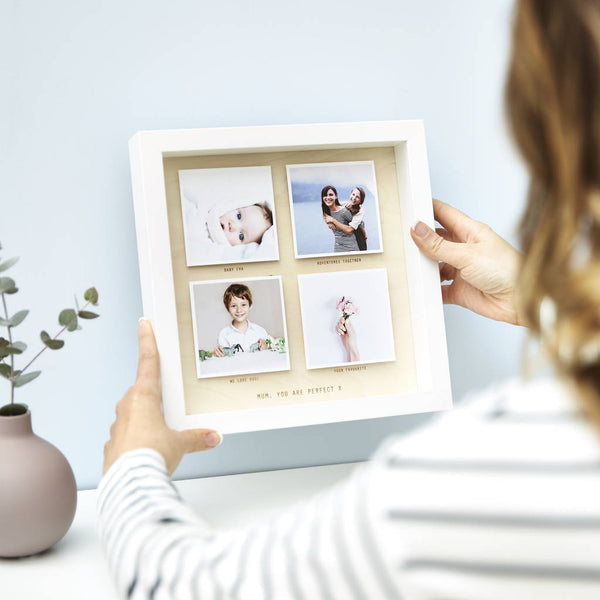 Personalised Wooden Framed Photo Print