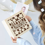Personalised Star Christening Keepsake Box