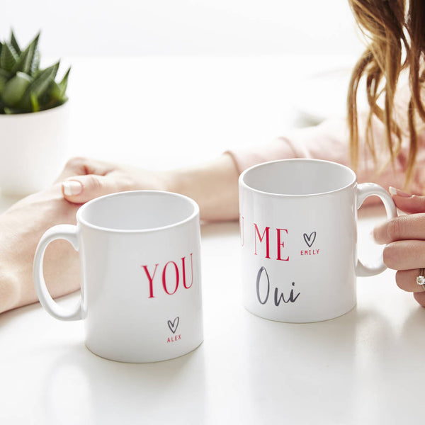 Personalised Twinning Mug Set