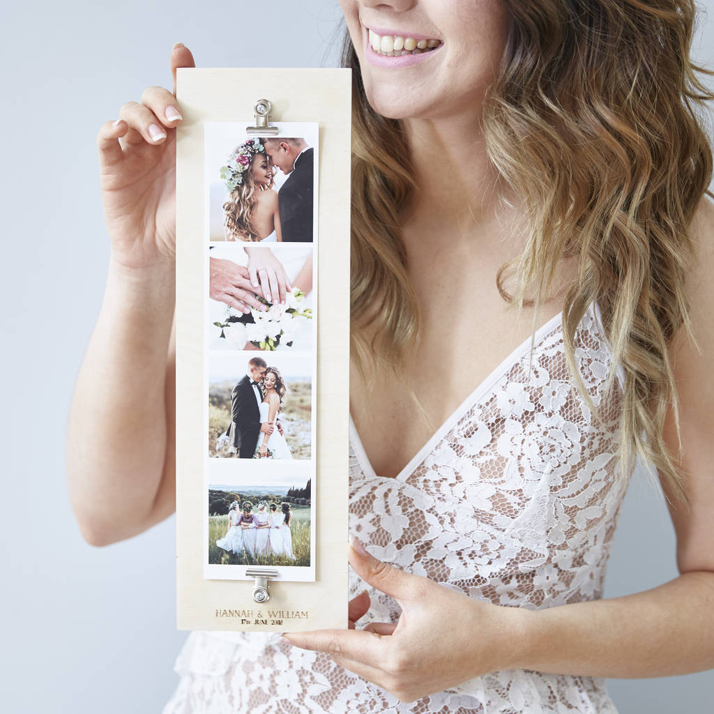 Personalised Wedding Giant Photo Strip